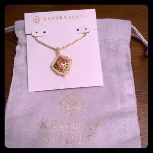 New Gold Kendra Scott Kacey in Rose Gold Filigree